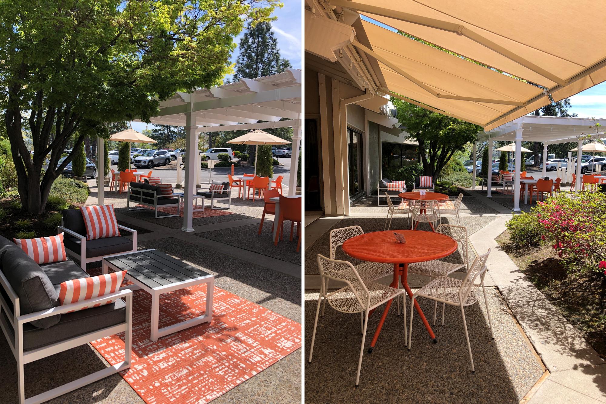 outdoor luna cafe